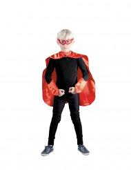 Kit superhéroe rojo niño