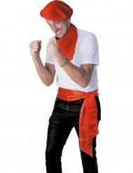 Cinturón rojo San Fermín adulto