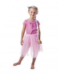 Corona princesa mágica con trenza niña