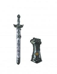 Espada y guante caballero