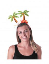 Diadema con palmeras adulto