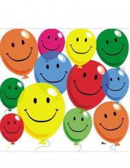 12 servilletas de papel Smile 33x33