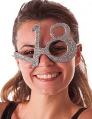 Gafas purpurina 18 años