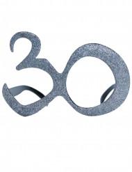 Gafas purpurina 30 años