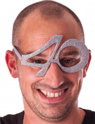 Gafas edad purpurina 40 años