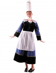 Disfraz mujer bretona de lujo