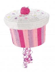 Piñata cupcake