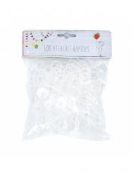 100 Cierres para globos amarillos