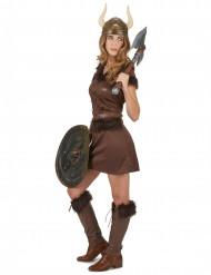 Disfraz vikinga sexy mujer