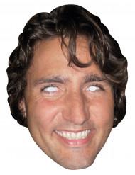 Máscara de cartón - Justin trudeau