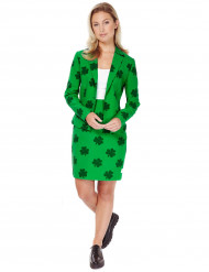 Traje Mrs. Lucky mujer Opposuits™ San Patricio