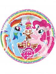 8 Platos de cartón My Little Pony™ 23cm
