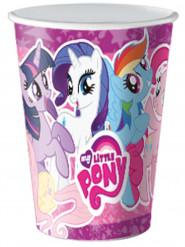 8 vasos de cartón My Little Pony™ 20cl
