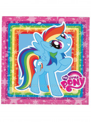 Servilletas de papel My Little Pony™ 33x33