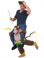 Disfraz de hombre sobre mono para adulto