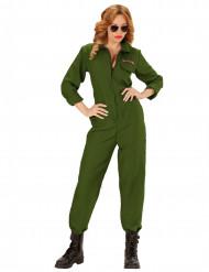 Disfraz de piloto mujer