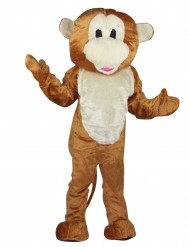 Disfraz de mono mascota para adulto