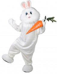 Mascota conejo maxi cabeza deluxe adulto