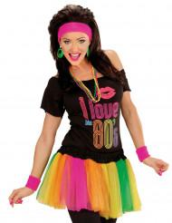Tutú multicolor fluo mujer