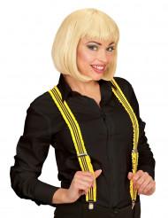 Tirantes amarillo fluorescente adulto