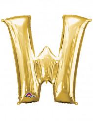 Globo de aluminio Gigante dorado 71x83cm