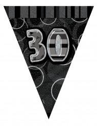 Guirnalda de banderines 30años 2.74m