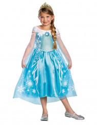 Disfraz de lujo Elsa Frozen™ niña