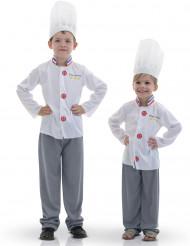 Disfraz de chef cocinero para niño