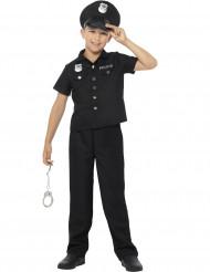 Disfraz policía de Nueva York niño