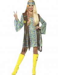 Disfraz hippie mujer años 60