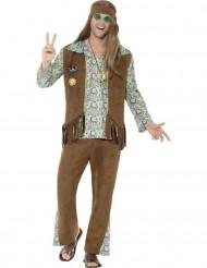 Disfraz hippie años 60 hombre