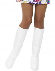 Cubre botas blanco mujer