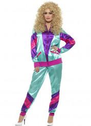 Disfraz deportivo años 80 mujer