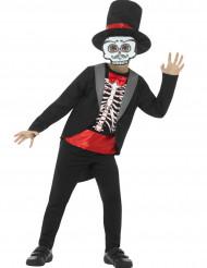 Disfraz de esqueleto niño Halloween