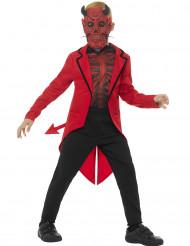 Disfraz demonio niño Día de los muertos