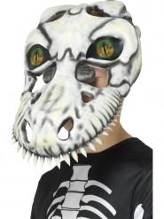 Máscara ojo holográfico tiranosaurio esqueleto niño Halloween