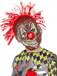 Máscara esqueleto payaso loco niño Halloween