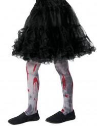 Medias sangrientas zombie niño Halloween
