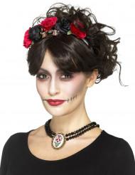 Collar gótico mujer Día de los muertos