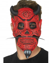 Máscara caballero demoniaco adulto