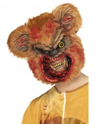 Máscara peluche zombie adulto Halloween