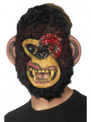 Máscara mono zombie adulto Halloween