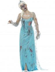 Disfraz zombie congelada mujer Halloween
