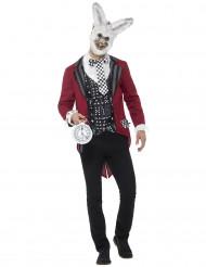 Disfraz conejo del tiempo hombre