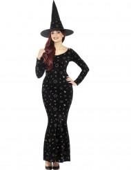 Disfraz bruja magia negra mujer Halloween