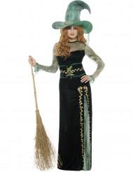 Disfraz bruja esmeralda mujer Halloween