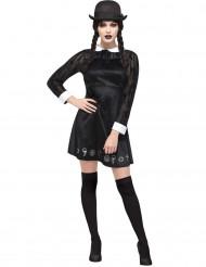 Disfraz de colegiala gótica mujer Halloween
