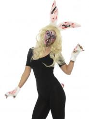 Kit conejo zombie Mujer Halloween