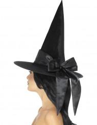Sombrero con lazo negro mujer Halloween