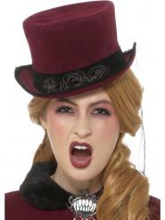 Sombrero vampiresa victoriana mujer Halloween